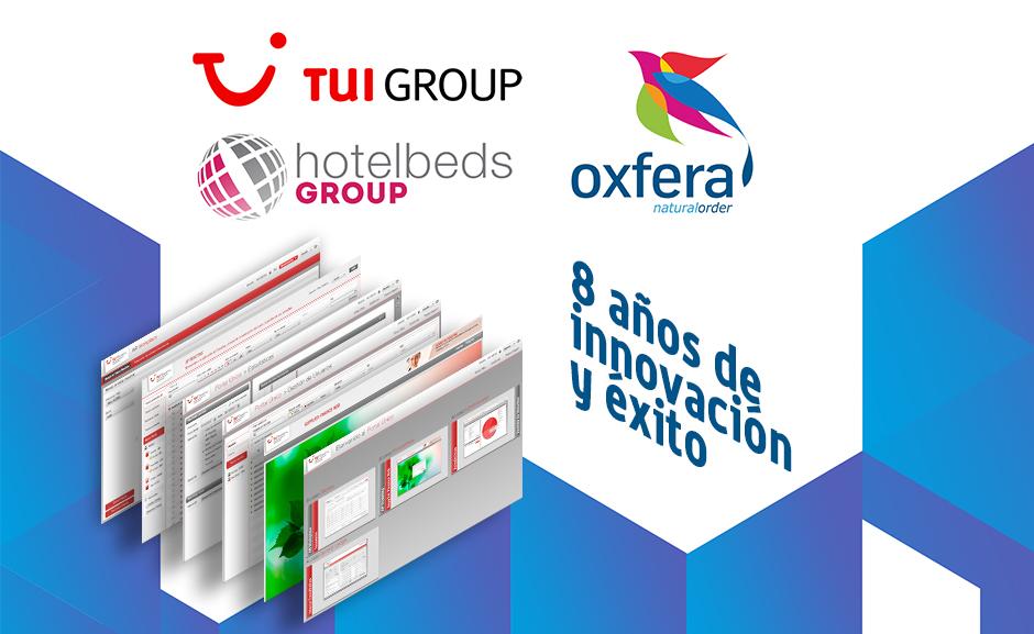 HOTELBEDS GROUP y OXFERA: 8 años de innovación y éxito