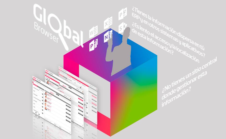 Global Browser: La solución para acceder y localizar de forma ágil la información dispersa y diversa de su compañía.