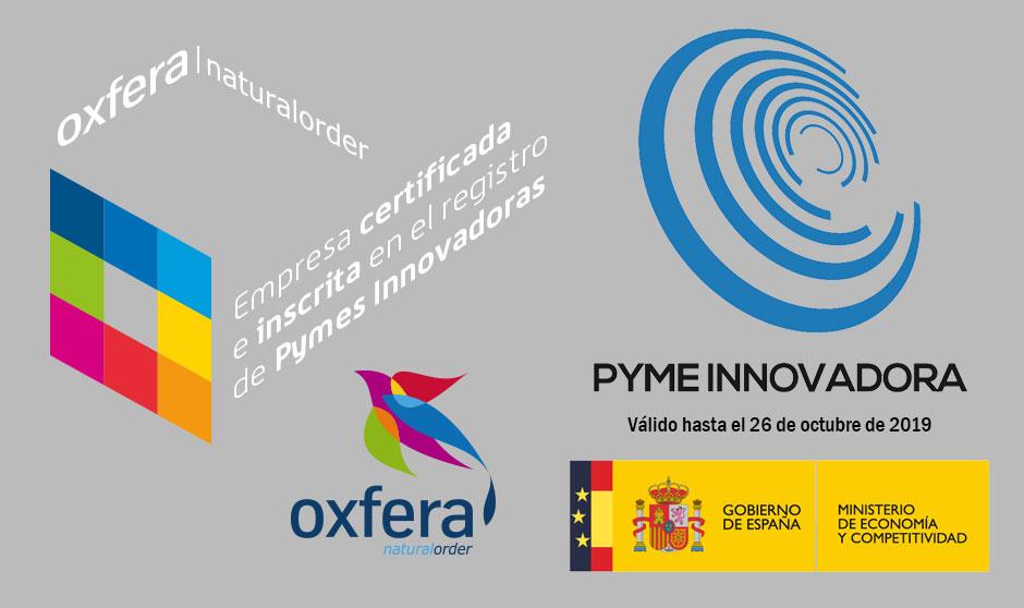 Oxfera inscrita en el registro de Pymes Innovadoras